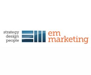 EM Marketing logo and link to business site