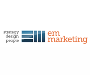 EM Marketing logo and link to business site
